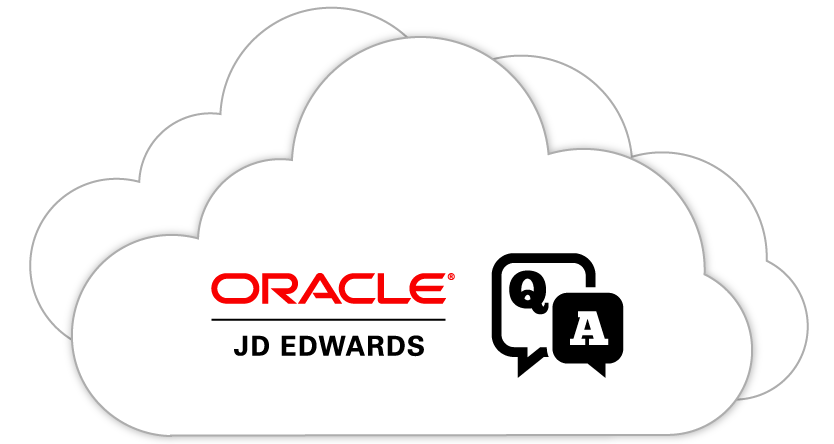 Oracle - JD Edwards Q&A